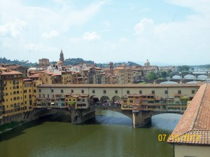 Ponte Vecchio, Arno river