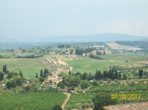 San Gimignano, Chianti Region, Italy