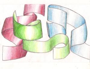 """Ribbons"" Artwork by Nina Fazzi"