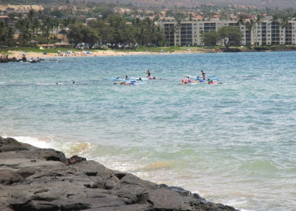 Surfing in Maui 2014
