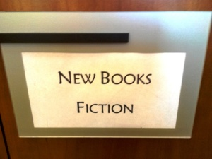 Folsom Library-Fiction Sign