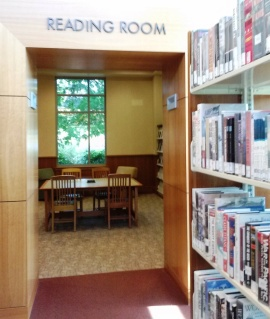 Folsom Library-Reading Room-CindyFazziPic